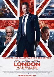 "Movie poster for ""LONDON HAS FALLEN"""