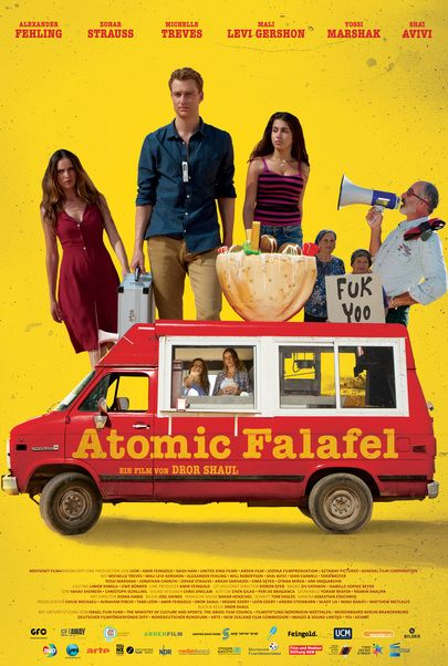 "Filmplakat für ""Atomic Falafel"""