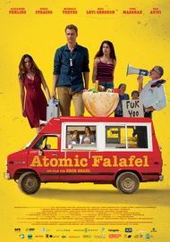 "Movie poster for ""Atomic Falafel"""