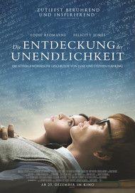 """Filmplakat für """"Die Entdeckung der Unendlichkeit"""""""