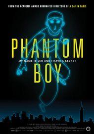 "Movie poster for ""PHANTOM BOY"""