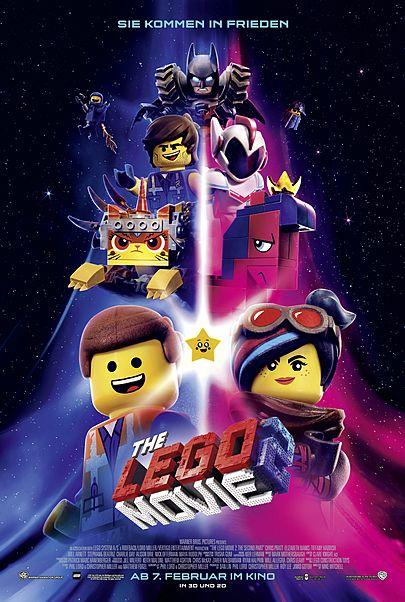 """Filmplakat für """"The Lego Movie 2"""""""