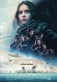 "Movie poster for ""ROGUE ONE"""