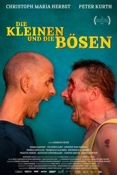 """Filmplakat für """"Die Kleinen und die Bösen"""""""