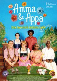 """Filmplakat für """"Amma & Appa - Eine bayerisch-indische Liebe"""""""