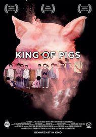 "Filmplakat für ""The King of Pigs"""
