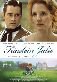 "Movie poster for ""Miss Julie"""