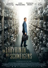 """Filmplakat für """"IM LABYRINTH DES SCHWEIGENS"""""""