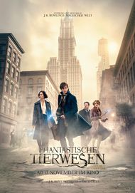 """Movie poster for """"Fantastic Beasts and Where to Find Them"""""""