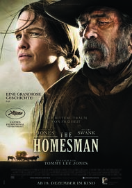 "Filmplakat für ""THE HOMESMAN"""