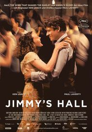 "Movie poster for ""JIMMY'S HALL"""