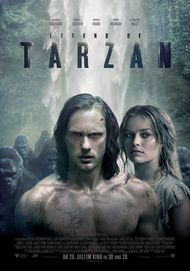 "Filmplakat für ""Legend of Tarzan"""