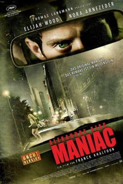 """Filmplakat für """"Alexandre Ajas Maniac"""""""