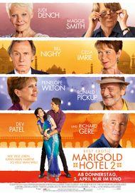 """Filmplakat für """"Best Exotic Marigold Hotel 2"""""""