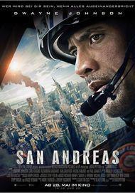 """Filmplakat für """"SAN ANDREAS"""""""