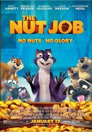 "Filmplakat für ""THE NUT JOB"""