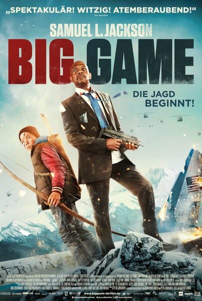 "Filmplakat für ""Big Game"""