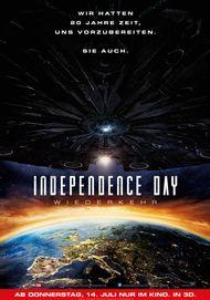 """Filmplakat für """"Independence Day: Wiederkehr"""""""