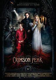 """Filmplakat für """"CRIMSON PEAK"""""""