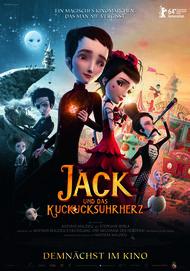 """Filmplakat für """"Jack und das Kuckucksuhrherz"""""""