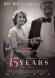 "Movie poster for ""45 YEARS"""