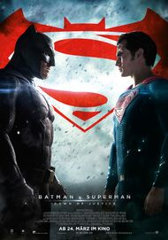 "Filmplakat für ""BATMAN V SUPERMAN : DAWN OF JUSTICE"""