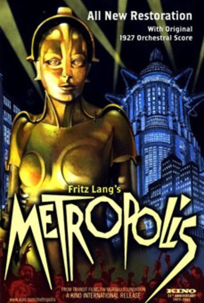 "Movie poster for ""METROPOLIS (2010 RESTORATION)"""