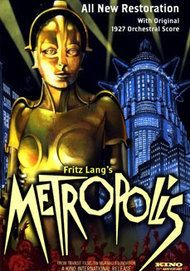"Movie poster for ""METROPOLIS (2010 RESTORATION)"""
