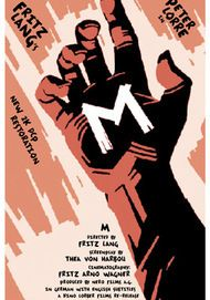 "Movie poster for ""FRITZ LANG'S ""M"" (2K RESTORATION)"""