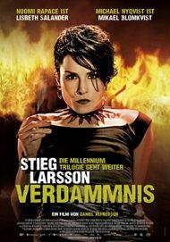 "Movie poster for ""Flickan som lekte med elden"""