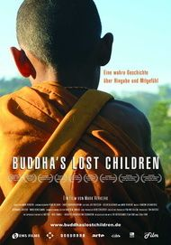 """Filmplakat für """"Buddha's Lost Children - Eine wahre Geschichte über Hingabe und Mitgefühl"""""""