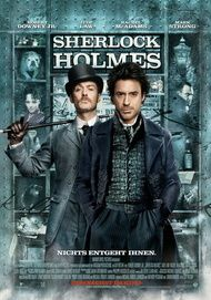 "Movie poster for ""Sherlock Holmes"""