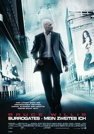 """Movie poster for """"Surrogates"""""""