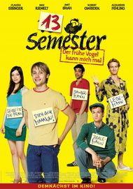 "Filmplakat für ""13 Semester"""