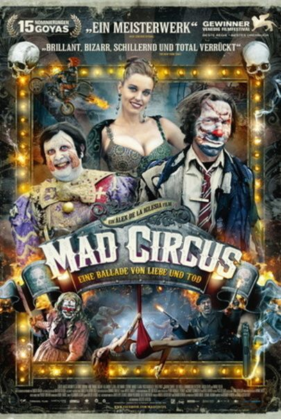 """Filmplakat für """"Mad Circus - Eine Ballade von Liebe und Tod"""""""