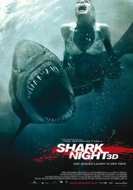 """Movie poster for """"SHARK KNIGHT 3D"""""""