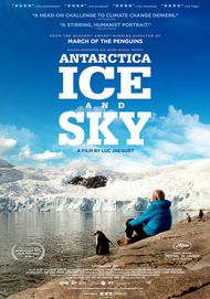"""Movie poster for """"ANTARCTICA: ICE AND SKY"""""""