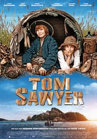 "Movie poster for ""Tom Sawyer"""