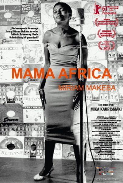 """Filmplakat für """"Mama Africa - Miriam Makeba"""""""