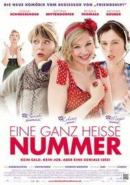 """Movie poster for """"Eine ganz heiße Nummer"""""""