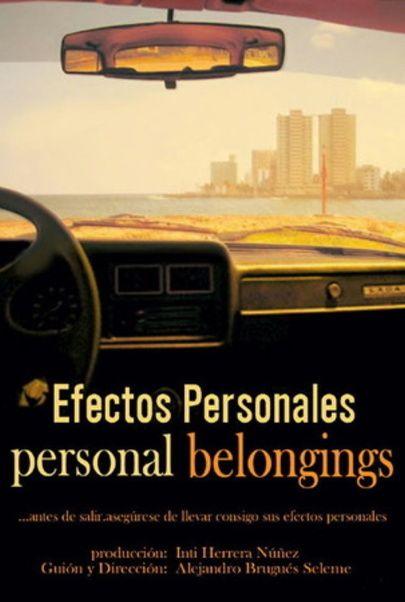 """Filmplakat für """"Personal Belongings"""""""