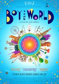 "Movie poster for ""BOY AND THE WORLD"""