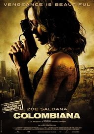 """Movie poster for """"Colombiana"""""""