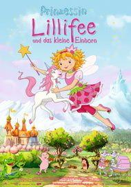 """Movie poster for """"Prinzessin Lillifee und das kleine Einhorn"""""""