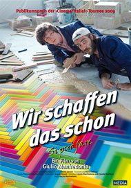 """Filmplakat für """"Wir schaffen das schon"""""""