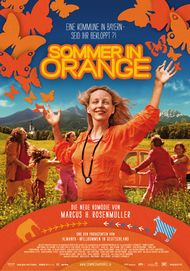 "Movie poster for ""Sommer in Orange"""
