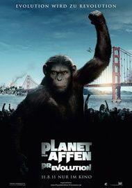"""Filmplakat für """"Planet der Affen: Prevolution"""""""