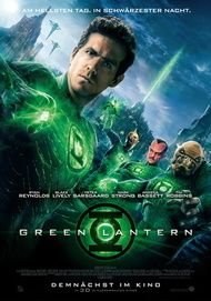 "Movie poster for ""Green Lantern"""