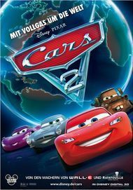 """Movie poster for """"CARS 2"""""""