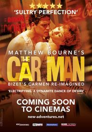 "Movie poster for ""MATTHEW BOURNE'S THE CAR MAN"""